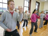 Qigong practise in Ireland