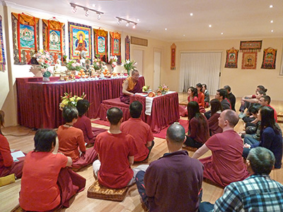 Ven. Lama Dondrup Dorje Teaching at the Pathgate Dharma Centre in Sydney, Australia